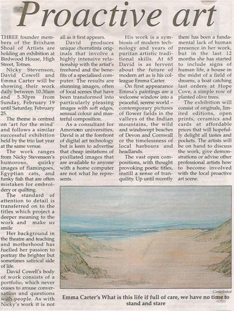 Totnes Times February 2006